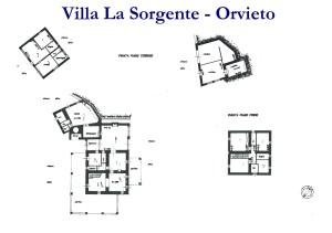 Planimetria - Villa La Sorgente